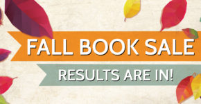 Friends of the Library – BIG Fall Book Sale Results!