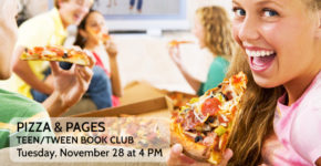Pizza & Pages: Teen/Tween Book Club