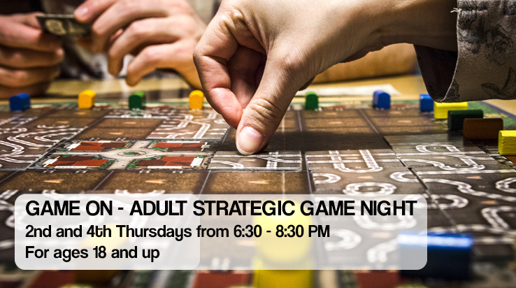 Game On – Adult Strategic Game Night