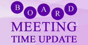 Library Board Meeting Rescheduled