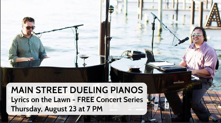 Lyrics on the Lawn – The Main Street Dueling Pianos