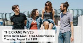 Lyrics on the Lawn – The Crane Wives