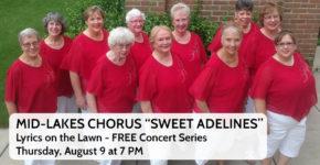 """Lyrics on the Lawn – Mid-Lakes Chorus """"Sweet Adelines"""""""