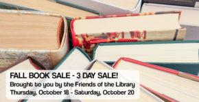 BIG Fall Book Sale