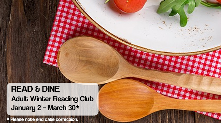 Read & Dine – Adult Winter Reading Club