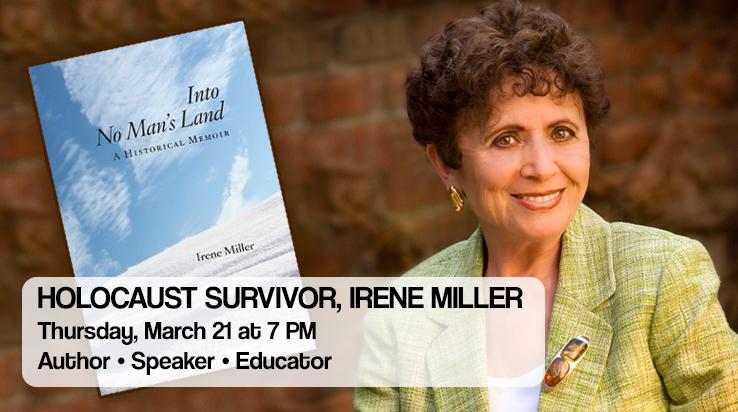 Holocaust Survivor, Irene Miller