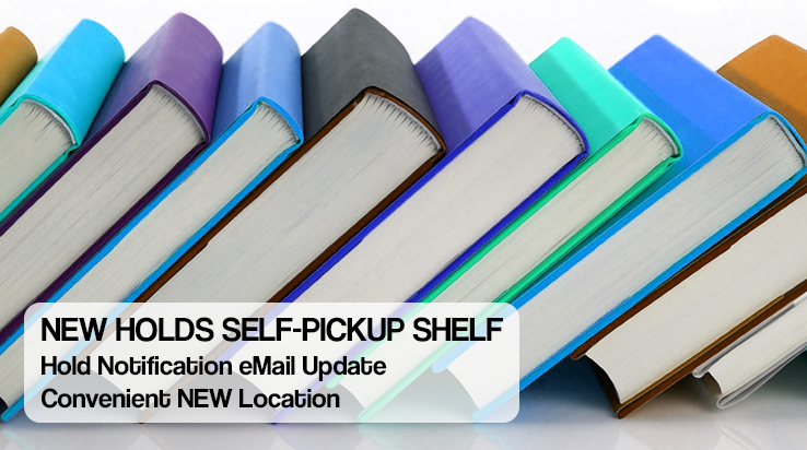 NEW Holds Self-Pickup Shelf