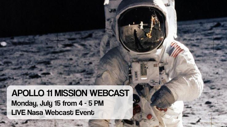 Apollo 11 Mission Webcast